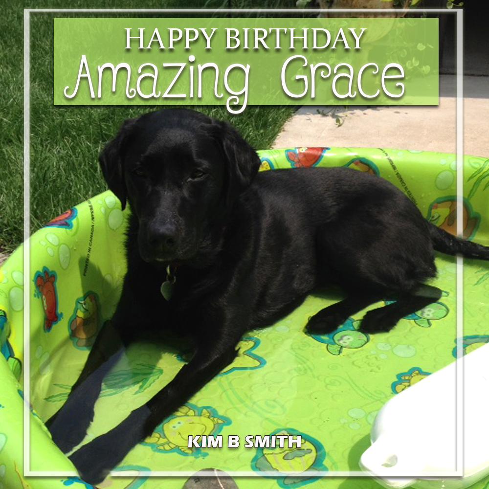 Happy Birthday, Grace!