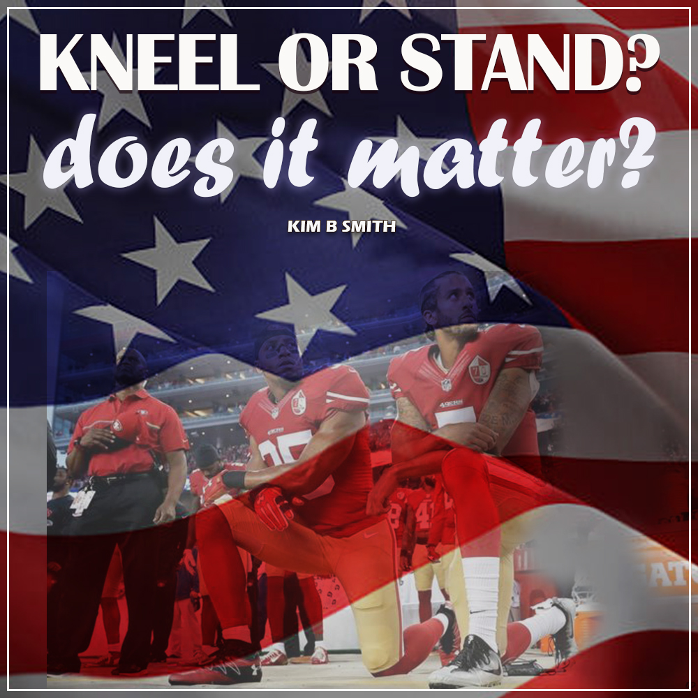Kneel or Stand? Does it Matter?