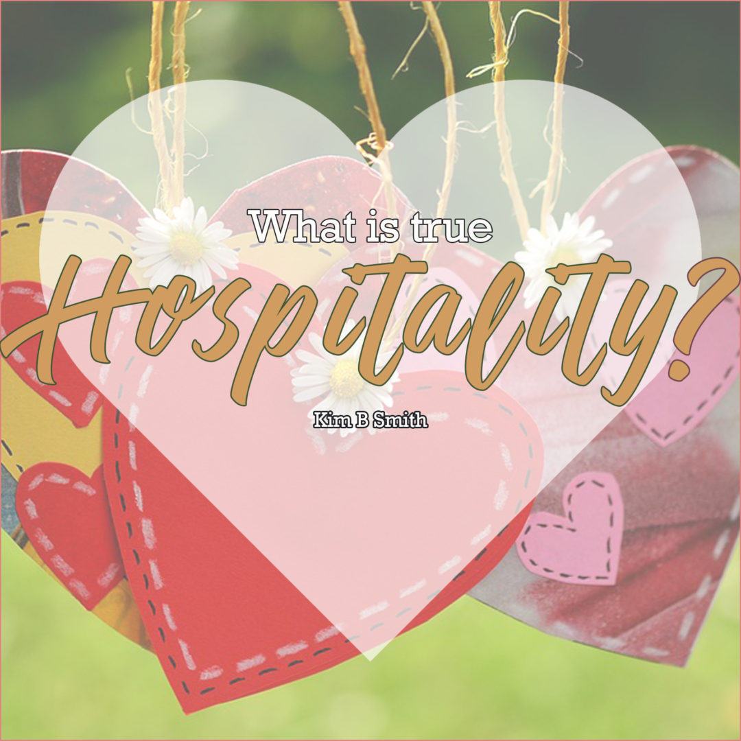 Love is true hospitality