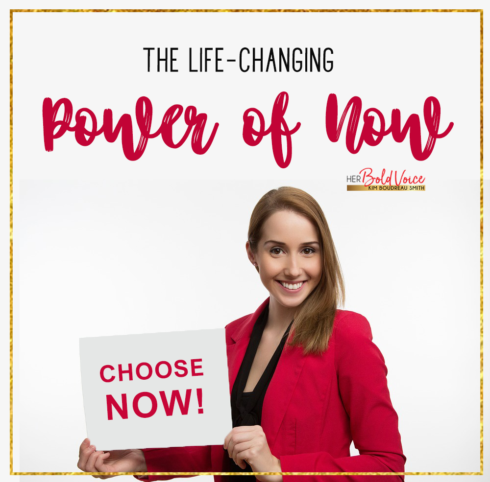 The Power of NOW! How to do just that, Now!
